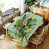XXDD Schöne Girlande Blumen drucken Tischdecke Wasserdicht Home Staubdicht Waschbar Rechteckige Tischdecke A5 140x200cm