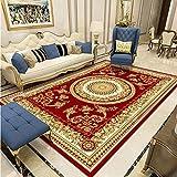 SHJIA Rutschfester Dicker Waschbarer Teppich, Haushalt Einfache Chinesische Art Wohnzimmer Couchtisch Kissen Schlafzimmer Nachttisch Kissen Großflächigen Tepp