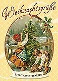 Weihnachtsgrüße: 12 nostalgische Weihnachtskarten: 12 Weihnachtskarten