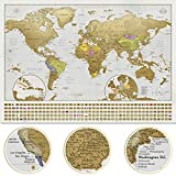 Scratch Off Map of the World (XXL)