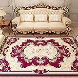 MMHJS Hauptdekoration Teppiche Im Persischen Ethnischen Stil Rechteckige Große Teppiche Luxuriös Und Komfortabel Hautfreundlich Und Hypoallergen 160x230