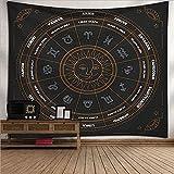 XGguo Wandteppich Tuch Wandtuch Wand Wandbehang Tapisserie für Wohnzimmer Schlafzimmer Tapisserie-Federkunst-Hintergrundtuch