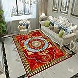ZAZN Moderner Und Einfacher Teppich Wohnzimmer Couchtischmatte Schlafzimmer Großflächiger Teppich Rutschfestes, Verschleißfestes, Waschbares M