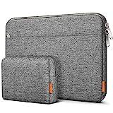 Inateck Tasche Hülle Kompatibel mit 13 MacBook Air 2020 M1-2018, 13 MacBook Pro 2020 M1-2016, Surface Pro X/7/6/5/4/3/, XPS13, Laptop Sleeve Case Laptophülle