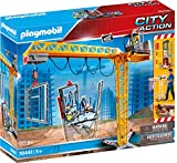 PLAYMOBIL City Action 70441 RC-Baukran mit Bauteil, Inkl. Fernbedienung, Ab 5 Jahren