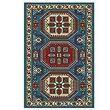 Table one Bodenschutzmatte für teppichboden, Bodenschutzmatten, Für Wohnzimmer, Küche, Schlafzimmer- rutschfeste Und Leicht Zu Reinigen Bodenboden (Size:120×160CM,Color:B.)