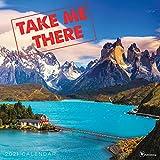 TF PUBLISHING 2021 Take Me There Monatlicher Wandkalender – Landschaftsfotografie – Termin-Tracker – Seiten für Kontakte und Notizen – Zuhause oder Büro – Premium-Glanzpapier 30,5 x 30,5 cm