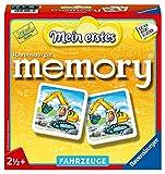 Ravensburger 21437 - Mein erstes memory Fahrzeuge, der Spieleklassiker für die Kleinen, Kinderspiel für alle Fahrzeug-Fans ab 2 Jahren