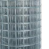 GXK Volierendraht 4-Eck Maschendraht 1,0 x 10m 19x19 mm Gartenzaun Zaun verzinkt