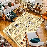Teppiche Im Nordischen Mexikanischen Stil, Polyester-Fußmatten, Couchtisch-Fußmatten Für Das Schlafzimmer, Waschbar, Langlebig, Geeignet Für Hotels