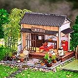 LZZB DIY Puppe Miniatur Puppenhaus Kit Handgemachte Chinesische Gartenbau Montage Produktion Modell Kreative Weihnachten