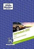 AVERY Zweckform 1222 Fahrtenbuch (für PKW vom Finanzamt anerkannt, A5, Recycling-Papier, 64 Seiten insgesamt 682 Fahrten, für Deutschland und Österreich zur Abgrenzung privater/geschäftlicher Fahrten)