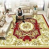 DJUX Home Hochflor Teppich Wohnzimmer Shaggy Weich 3D Muster, Soft Garn in versch,180x200