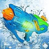 Wasserpistole Elektrisch mit Großer Reichweite für Erwachsene Kinder Wasserspritzpistole Super Water Gun Soaker Spritzpistole Wasser Spielzeug