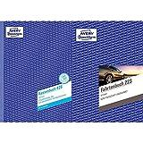 AVERY Zweckform 426 Kassenbuch (A4, nach Steuerschiene 300, von Rechtsexperten geprüft, 100 Blatt) weiß & Fahrtenbuch (für PKW, vom Finanzamt anerkannt, A5, auf 80 Seiten für insgesamt 858 Fahrten)