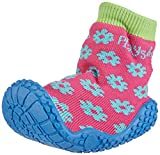 Playshoes Aqua-Socke Badeschuhe Blume 174805, Mädchen Aqua Schuhe, Pink (original 900), 22/23 EU
