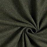Blazerstof mit recycleter Wolle Diagonal – dunkeloliv/oliv — Meterware ab 0,5m — zum Nähen von Jacken, Mäntel und Blazer