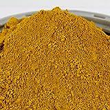 @tec Eisenoxid Pigmentpulver für Beton, Oxidfarbe - 1kg (8,90 Euro/kg) Farbpigmente Trockenfarbe für Zemenz, Gips, Putz, Epoxidharz - Farbe: gelb