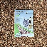 Kokoseinstreu grob 20 Liter (EUR 0,59/Liter), Kokoschips, Einstreu geeignet als Käfig Bodenbedeckung für Kaninchen, Meerschweinchen, Degus, Ratten und andere Nagetieren, ebenso geeignet für Schlangen, Schildkröten und andere Reptilien