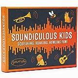 Soundiculous Kids: Das Spiel mit lustigen Geräuschen im Taschenformat für Kinder im Alter von 3, 4, 5, 6 und 7 Jahren sowie ihre Familie und Freunde