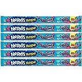 Wonka Very Berry Nerds Rope (6 Stück), amerikanische Süßigkeiten