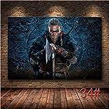 Simayi Das Assassin Creed Valhalla Hd-Spielplakat. Leinwand Malerei Dekoration Leinwand Malerei Kunst Wand Poster 50X70Cm (Jn2170)