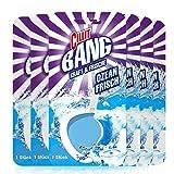 CILLIT BANG Kraft und Frische WC Spüler Ozean Frisch – Reinigender WC Stein mit Frischeduft – 6 x 1er Pack