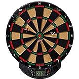 Best Sporting elektronische Dartscheibe Bristol Dartboard mit 6 Dartpfeilen und Ersatzspitzen, Dartautomat mit LCD-Display, Batteriebetrieb