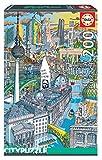 Educa 18469 Berlin City Puzzle´ 200 Teile Kinderpuzzle, bunt