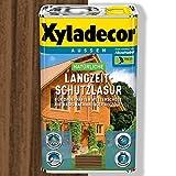 Xyladecor Natürliche Langzeit-Schutzlasur (2,5 l, nussbaum)
