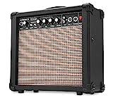 Rocktile Scream 15 Gitarrenverstärker Mini Combo Amp (15 Watt Amplifier, 2-Kanäle, Portable, AUX-In für MP3/CD, 3-Band Equalizer, Kopfhöreranschluss)