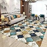 tepiche Wohnzimmer Rechteckiger Bodenmatte Kristall Velvet Teppich modern wohnzimmerteppich Teppich vorzimmer 40x60cm 1ft 3.7' X1ft 11.6'