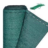 Relaxdays, grün Zaunblende, Sichtschutz für Zaun & Balkongeländer, HDPE Gewebe, UV-stabilisiert, wetterfest, 2 x 10 m