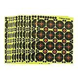 fritz-cell 25 Splitterziele Splittersticker Typ 2508 selbstklebend Zielscheibe für alle Gewehre, Pistolen, Luftgewehre, Airsoft, BB, Diabolo kompatibel mit Splatterburst Zielen