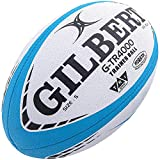 Gilbert G-TR4000 Rugby-Ball, Himmelblau (4)