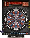 Dartona Elektronische Dartscheibe JX2000 Turnier Pro -   Dartscheibe elektronisch   Turnierscheibe mit 41 Spielen und über 200 Varianten