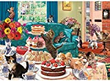 1000 Papierpuzzles für Erwachsene und KinderMähen und KuchenDIY maßgeschneiderter mittlerer Schwierigkeitsgrad, geeignet für Geschenke, Spielzeug und lustige Spiele 38 * 26CM
