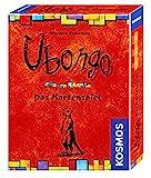 KOSMOS 7402140 - Ubongo - Das Kartenspiel, Das bekannte Legespiel als schnelles Kartenspiel für 2 bis 4 Personen, Familienspiel, Gesellschaftsspiel, Reisespiel, kleines Geschenk, Mitbringsel