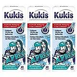 Kukis Zahnspangenreiniger, 3x60 Reinigungstabletten für Zahnspangen