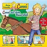 Conni auf dem Bauernhof / Conni schläft im Kindergarten / Conni geht zum Zahnarzt / Connis erster Flug. Vier Hörspiele zur TV-Serie: Meine Freundin Conni 2