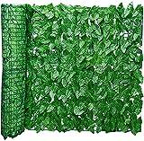 Garden Fence Grüne künstliche Hedge-Rolle, Efeu-Blatt-Screening, Privatsphäre Zaun-Bildschirm, UV-beständig, verblassen geschützt, Landschaftsgartenzaun, Balkon-Bildschirm Gartenzaun Dekorative Zäune
