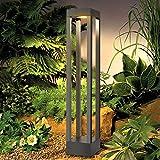 LEDMO LED Wegeleuchten Außen 9W LED Gartenlampe 3000K Standleuchte Aussen Pollerleuchte 60CM IP65,Aussenleuchte Gartenleuchte.