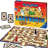 Ravensburger Familienspiel Das verrückte Labyrinth, Kinder- und Gesellschaftsspiel, für Kinder und Erwachsene, 2-4 Spieler, ab 7 J
