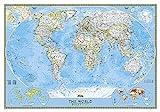 National Geographic Weltkarte politisch classic
