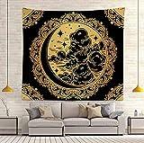 Mandala Kunst Wandbehang Decke Wohnzimmer Schlafzimmer Dekoration Schlafsaal Wand Hintergrund Hängende Stoffdecke A9 180x200cm