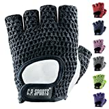 C.P.Sports Fitness-Handschuhe Klassik F3 Gr.S - Handschuh Bodybuilding, Trainingshandschuh