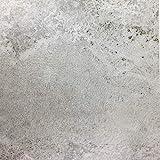 [14,04€/m²] Klebefolie in heller Beton-Optik I inkl. Rakel & eBook mit Profitipps I Selbstklebende Deko Folie für Möbel & Küche – hitzebeständig & abwaschbar I Möbelfolie in grauer Beton Stein-optik