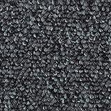 Teppichboden Auslegware | Schlinge Büro | 400 und 500 cm Breite | grau anthrazit | Meterware, verschiedene Größen | Größe: 5,5 x 5