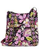 Vera Bradley Hipster Schultertasche / Umhängetasche, - rosa, schwarz (Pirouette Pink with Black Interior) - Größe: Einheitsgröße