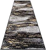YONGQUAN Flur-Runner-Teppich, 100% Polypropylengel rutschfeste Rutsch-Läufer-Matten, kautresistente Maschinenwaschbar, für alle harten Bodenbeläge, benutzerdefinierte Leng (Color : A, Size : 1.2x2m)